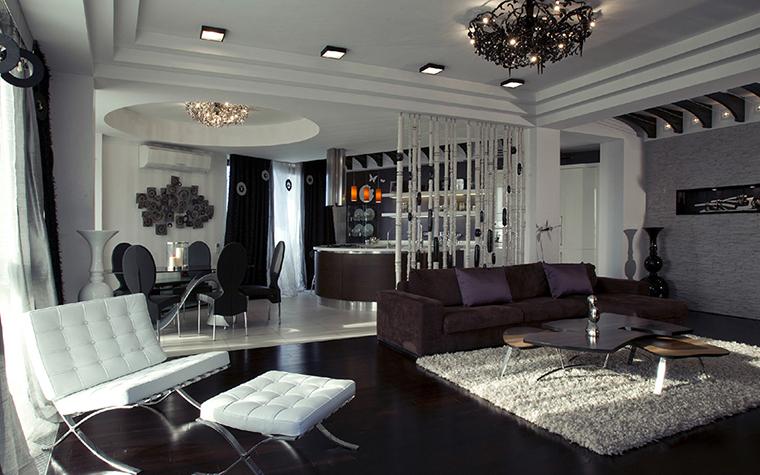 Квартира. гостиная из проекта , фото №36632