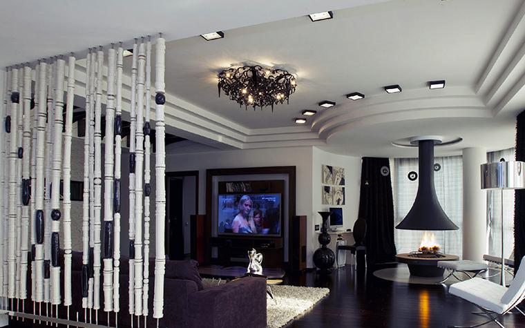 Квартира. гостиная из проекта , фото №36633
