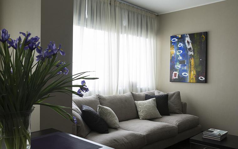 Квартира. гостиная из проекта , фото №36671