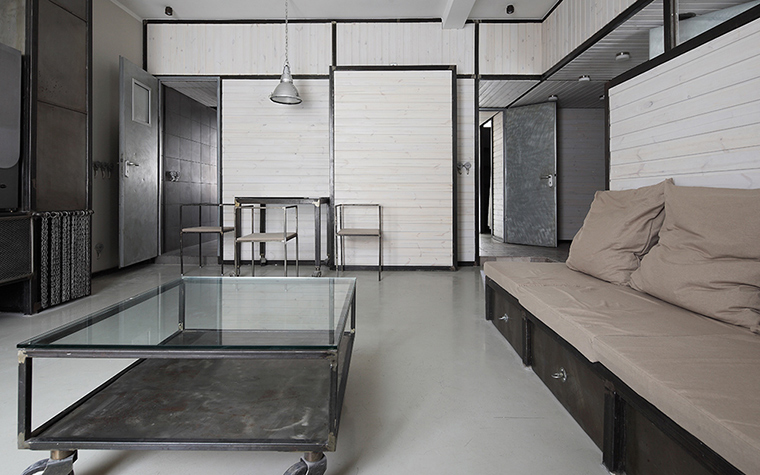 Квартира. гостиная из проекта , фото №36755