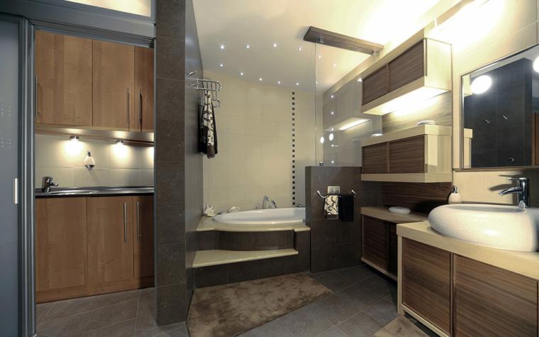 Фото № 36851 ванная  Квартира