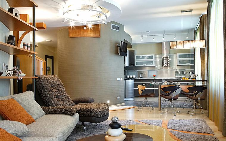 интерьер гостиной - фото № 36855