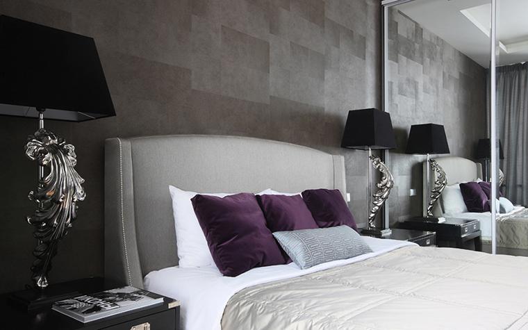 Квартира. спальня из проекта , фото №36906