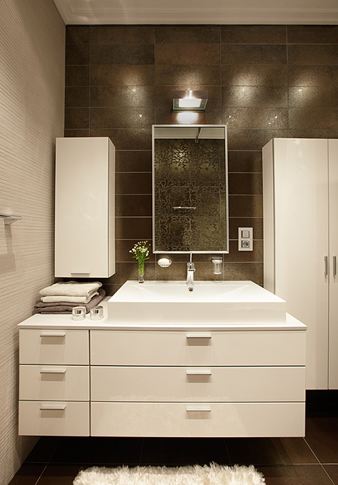 Квартира. ванная из проекта , фото №36896