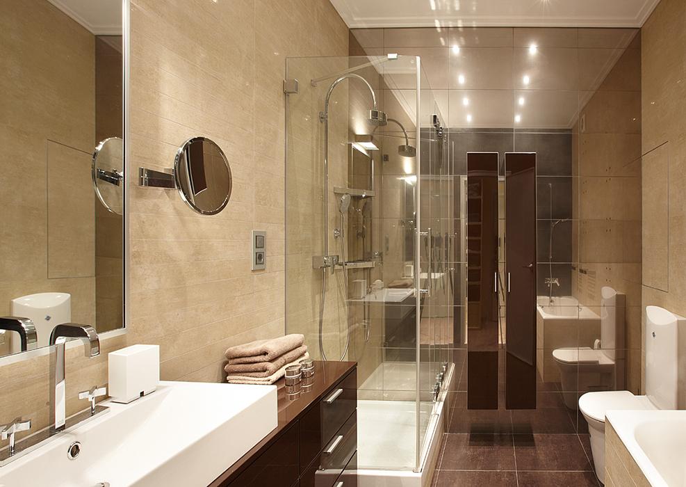 Квартира. ванная из проекта , фото №36897