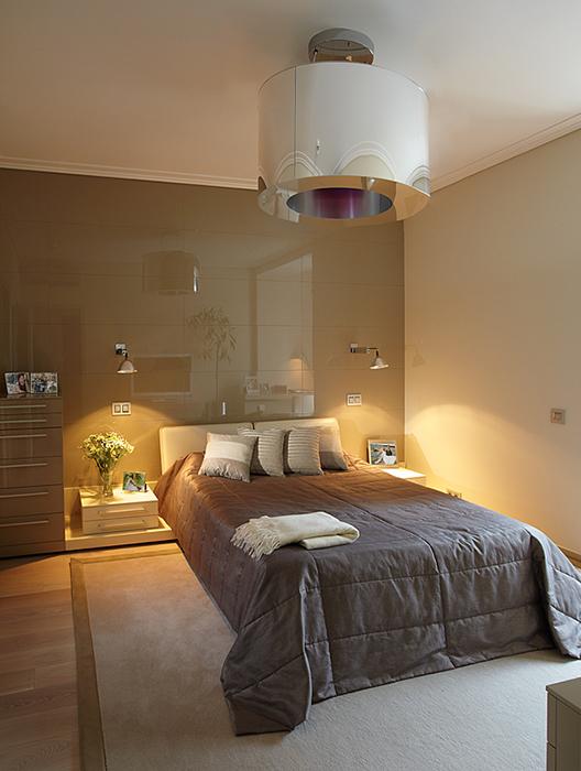 Квартира. спальня из проекта , фото №36892