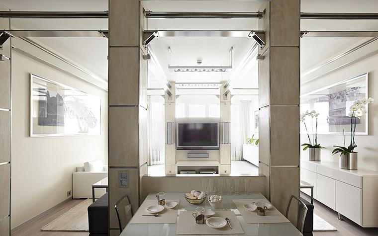 Квартира. столовая из проекта , фото №36890