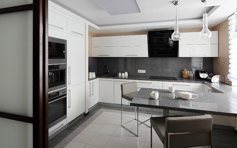 Квартира. кухня из проекта , фото №36925