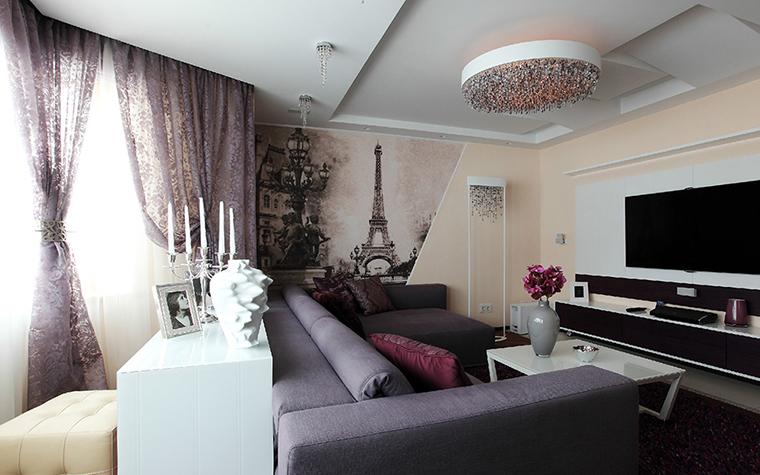 интерьер гостиной - фото № 36915