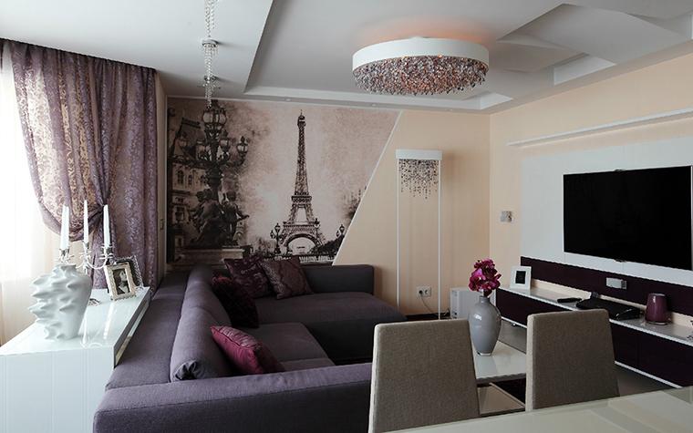 интерьер гостиной - фото № 36916