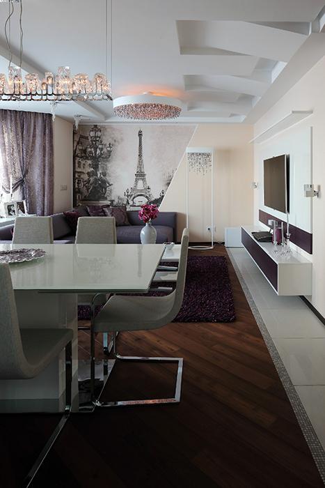 интерьер гостиной - фото № 36918