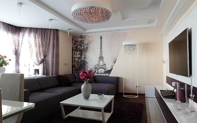 интерьер гостиной - фото № 36917