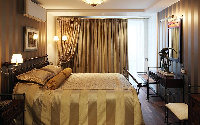 Квартира. спальня из проекта , фото №36910