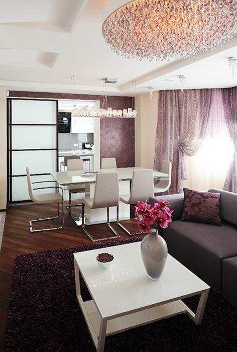 Квартира. столовая из проекта , фото №36929