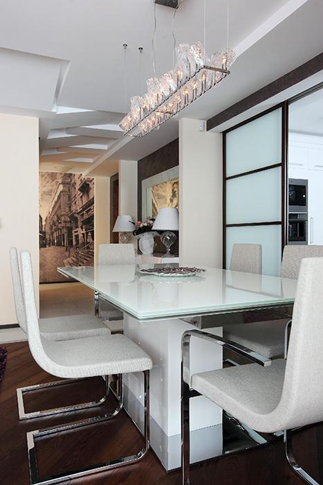 Квартира. столовая из проекта , фото №36920