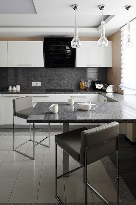 Квартира. кухня из проекта , фото №36924