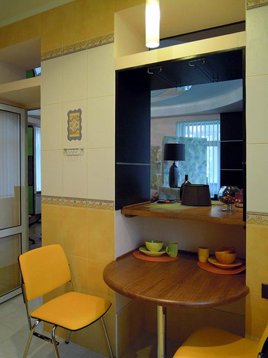 Фото № 36937 кухня  Квартира