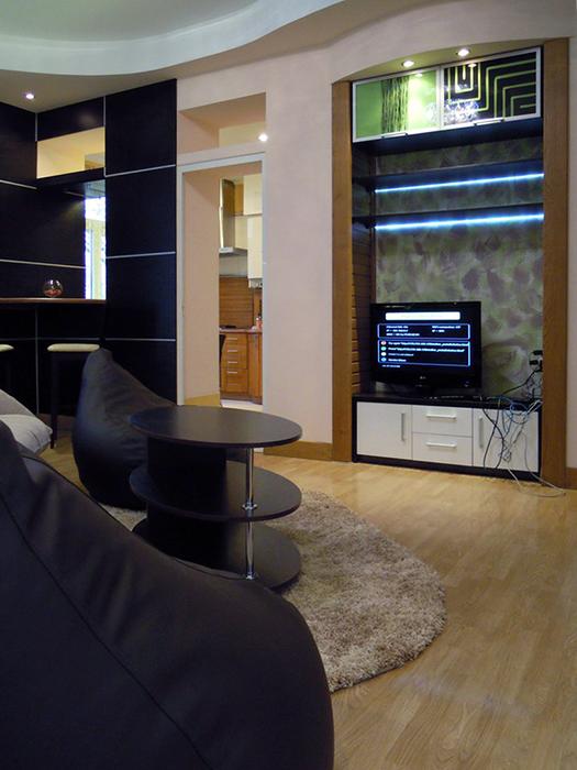 Фото № 36933 гостиная  Квартира