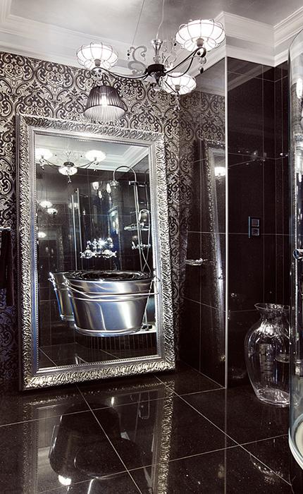 Квартира. ванная из проекта , фото №36954