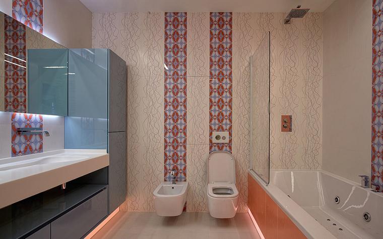 Квартира. ванная из проекта , фото №37007