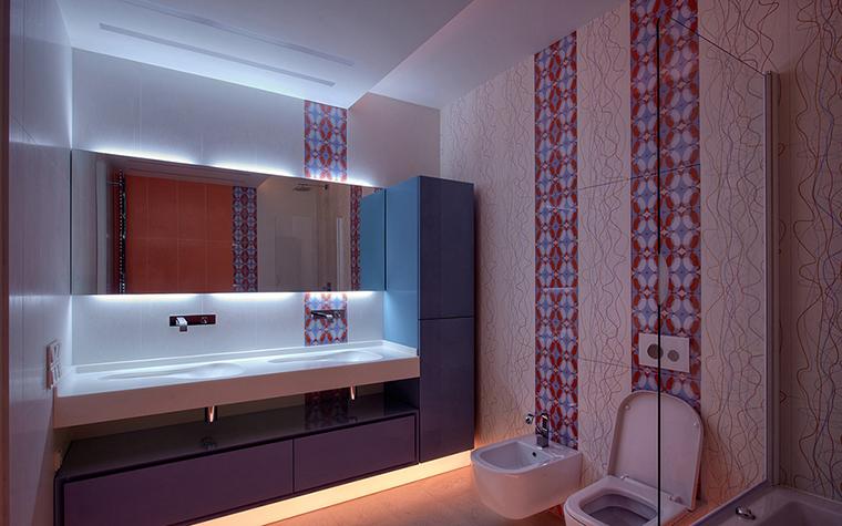 Квартира. ванная из проекта , фото №37008