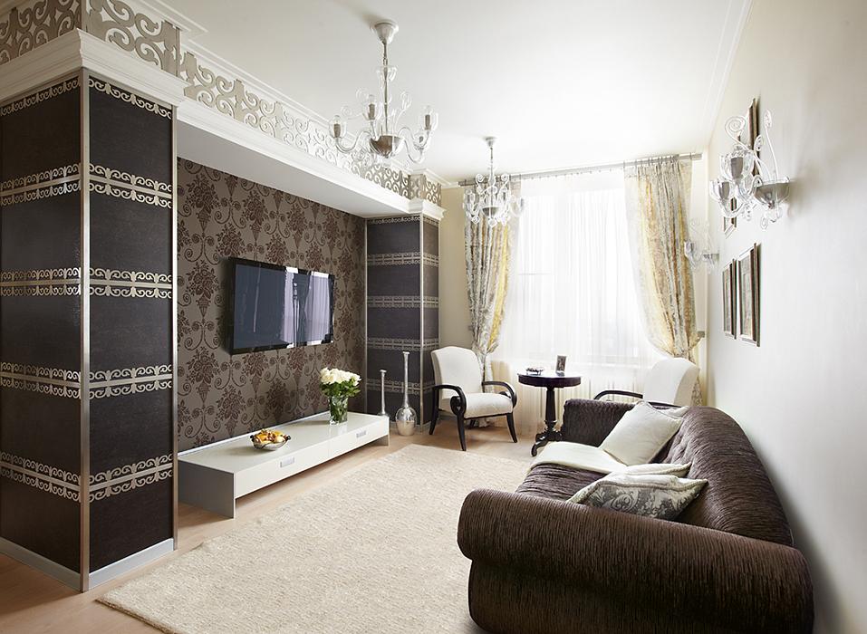 Фото № 37017 гостиная  Квартира