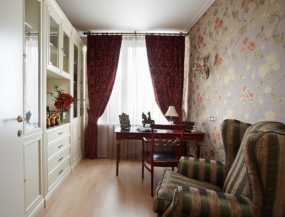 Квартира. кабинет из проекта , фото №37021
