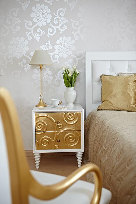 интерьер спальни - фото № 37020