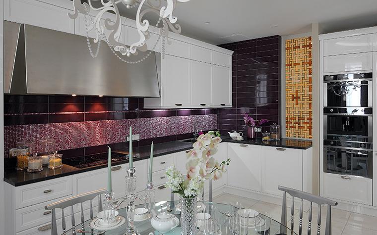 Квартира. кухня из проекта , фото №37093