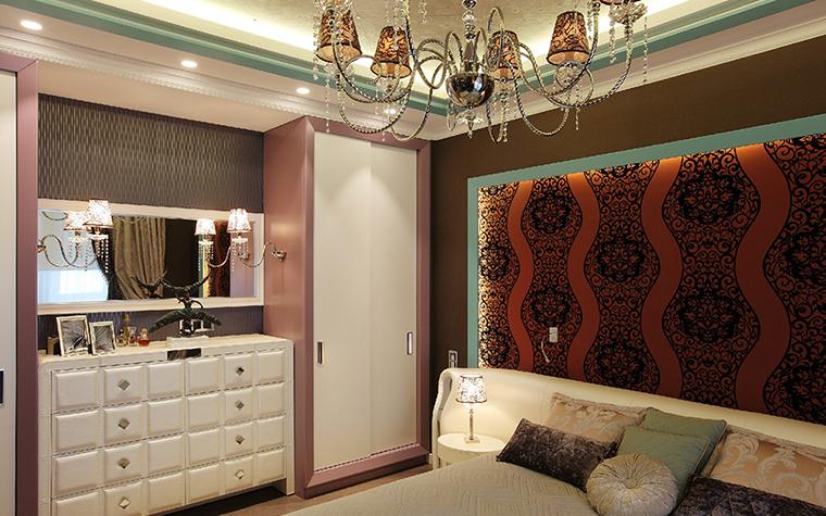 Квартира. спальня из проекта , фото №37080