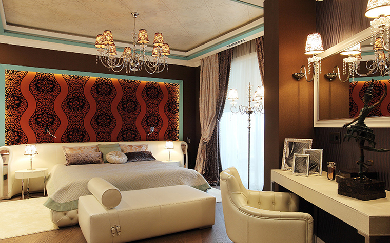 Квартира. спальня из проекта , фото №37081