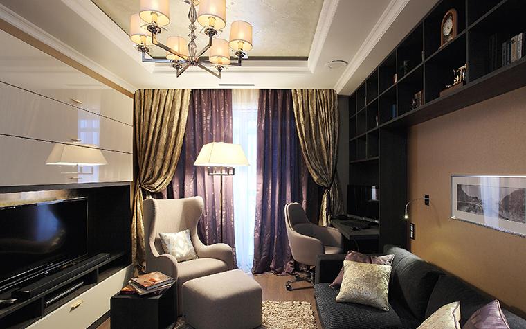 Квартира. кабинет из проекта , фото №37088