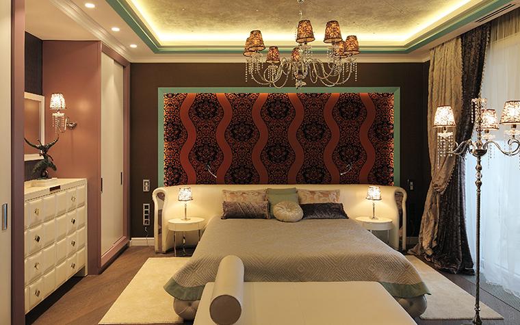 Квартира. спальня из проекта , фото №37082
