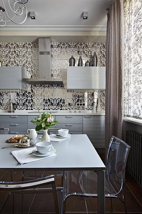 Фото № 37140 кухня  Квартира