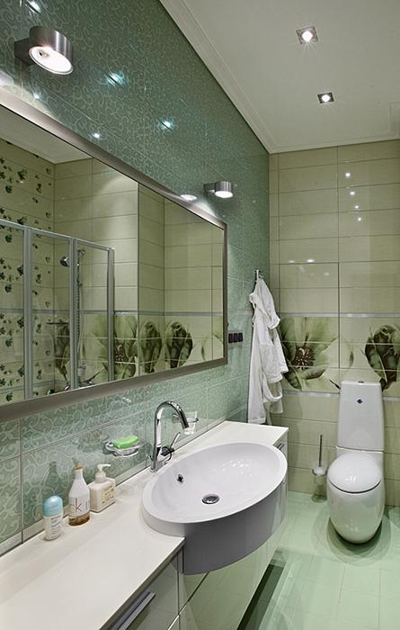 Квартира. ванная из проекта , фото №37141