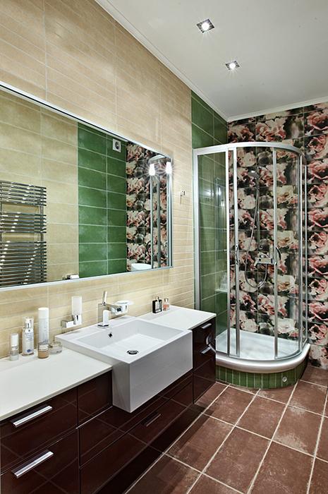 Квартира. ванная из проекта , фото №37142