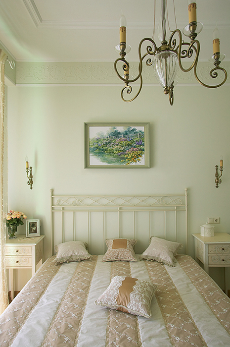 Квартира. спальня из проекта , фото №37183