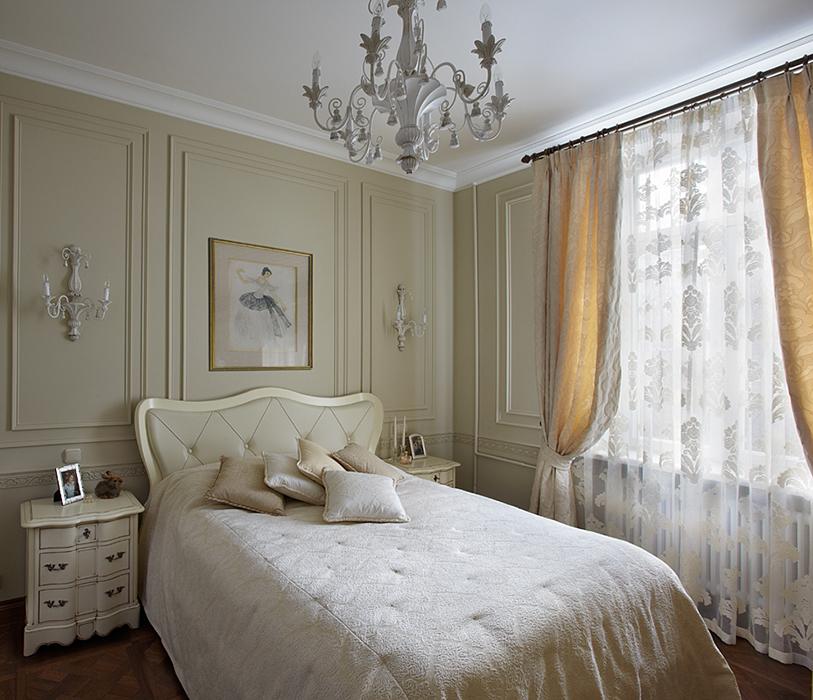 Квартира. спальня из проекта , фото №37208
