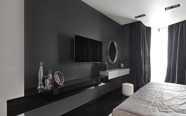 Квартира. спальня из проекта , фото №37333