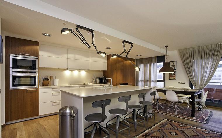 Фото № 37418 кухня  Квартира