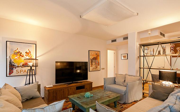 Фото № 37425 гостиная  Квартира