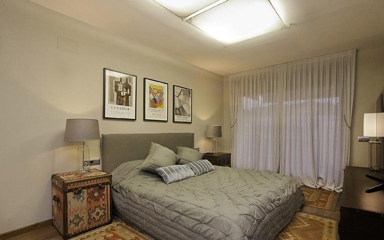 Квартира. спальня из проекта , фото №37421