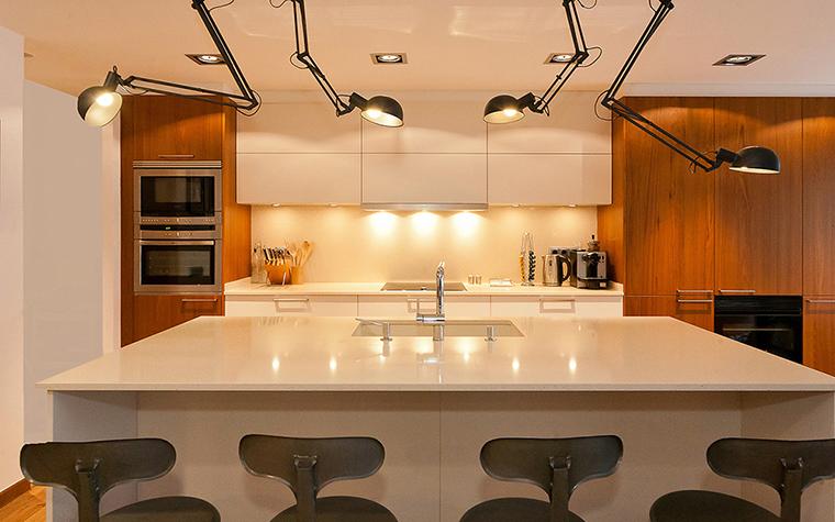 Фото № 37419 кухня  Квартира