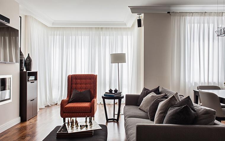 Квартира. гостиная из проекта , фото №37534