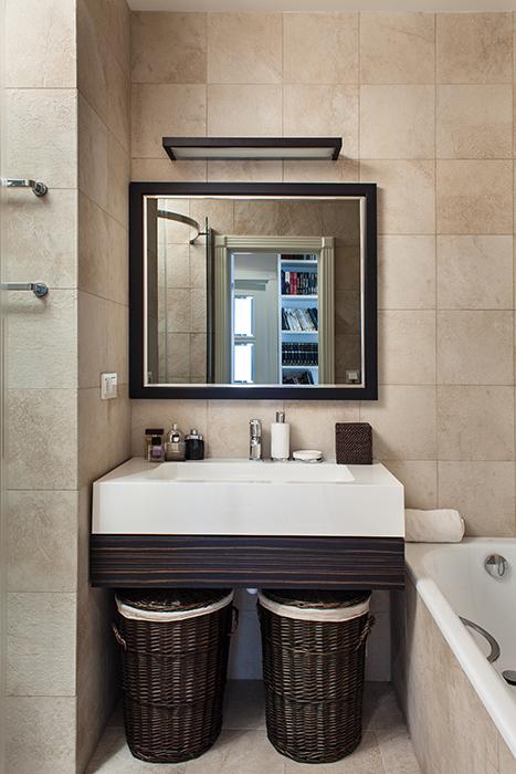 Квартира. ванная из проекта , фото №37542