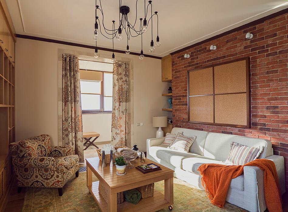 Фото № 37547 гостиная  Квартира
