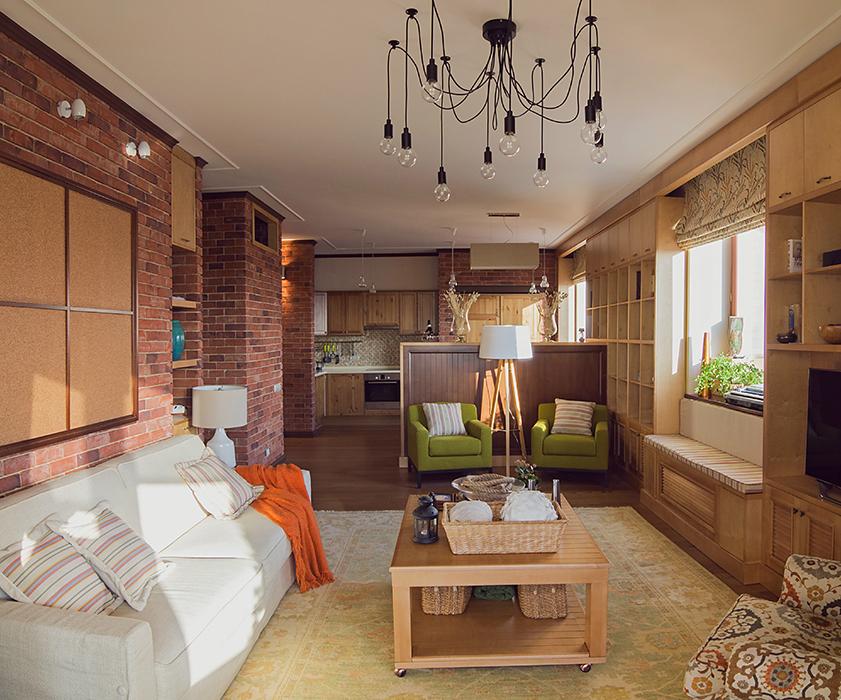 Фото № 37549 гостиная  Квартира