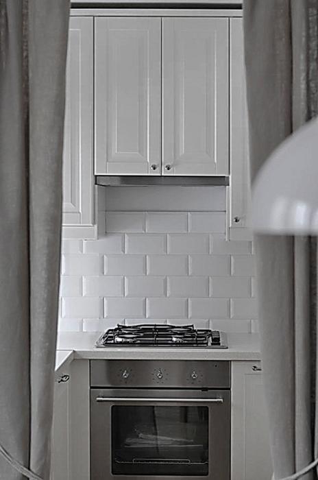Квартира. кухня из проекта , фото №37613