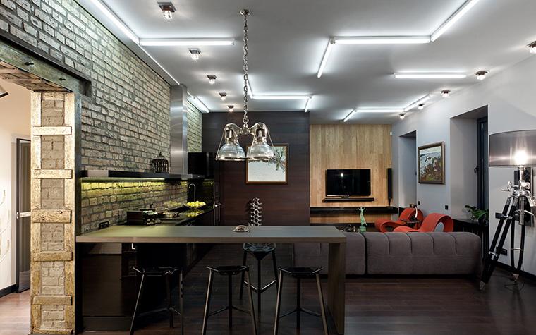 интерьер гостиной - фото № 37703