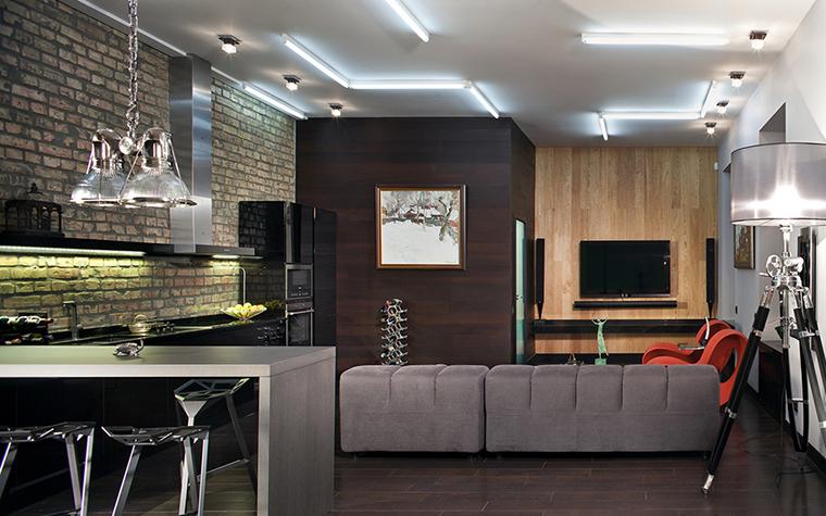 интерьер гостиной - фото № 37704
